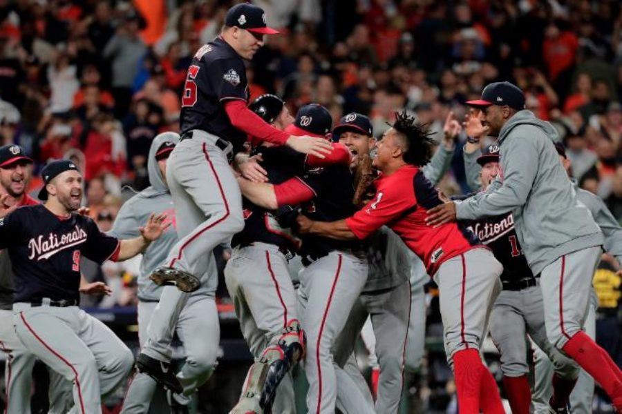 CNN:  Democrats and Republicans celebrate Washington Nationals' World Series win