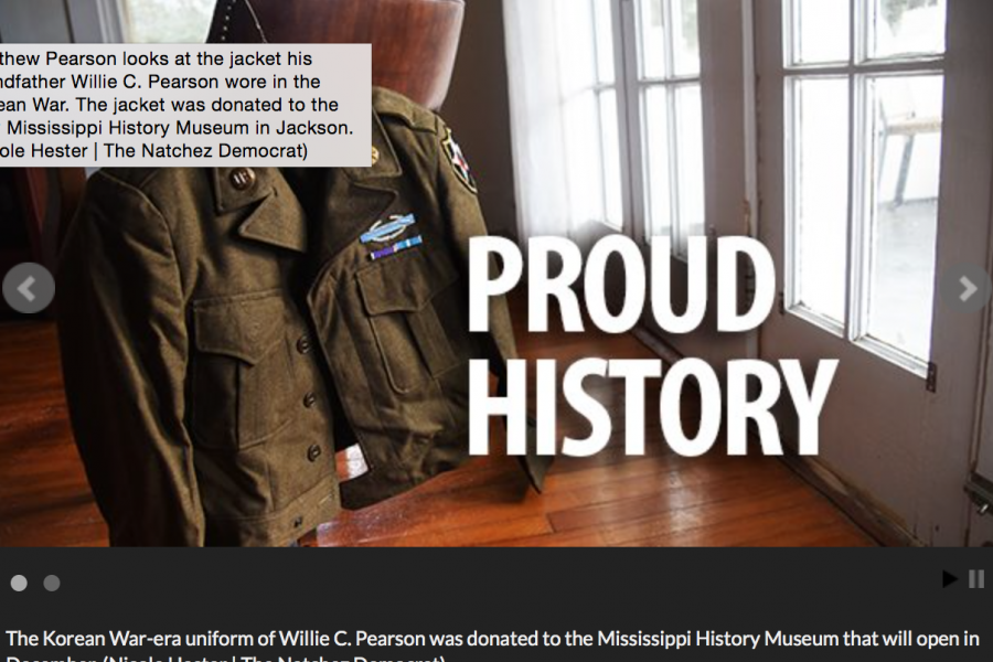 Natchez Democrat: Family donates jacket to new state history museum