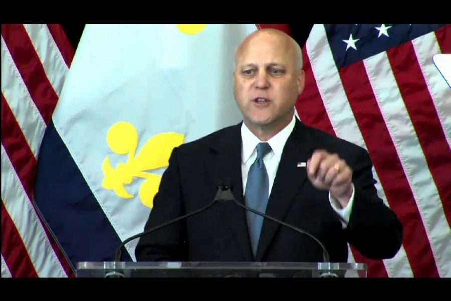 The full text of the remarks delivered last week by the mayor of New Orleans, Mitch Landrieu