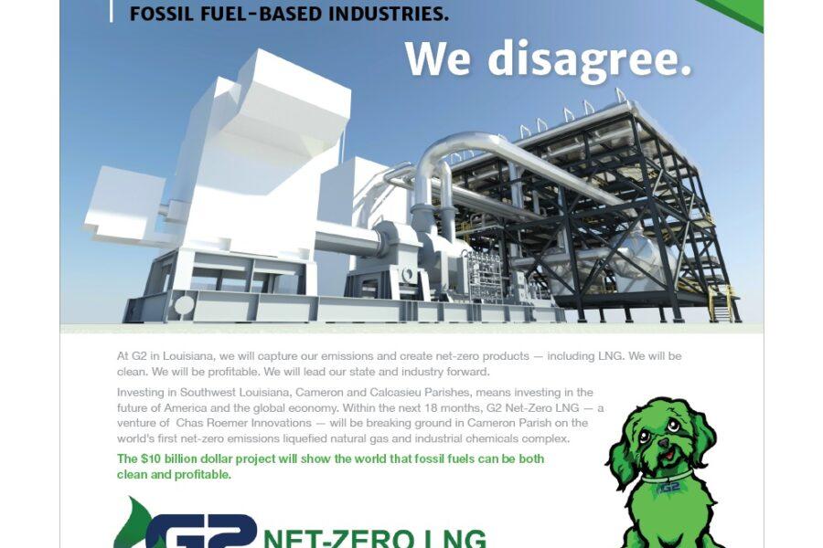 G2 Net-Zero LNG: ANGELE DAVIS NAMED CEO OF G2 NET-ZERO LNG