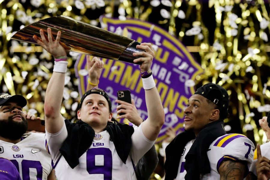 The New York Times: L.S.U. Wins the Title the Way It Won All Season: Behind Joe Burrow