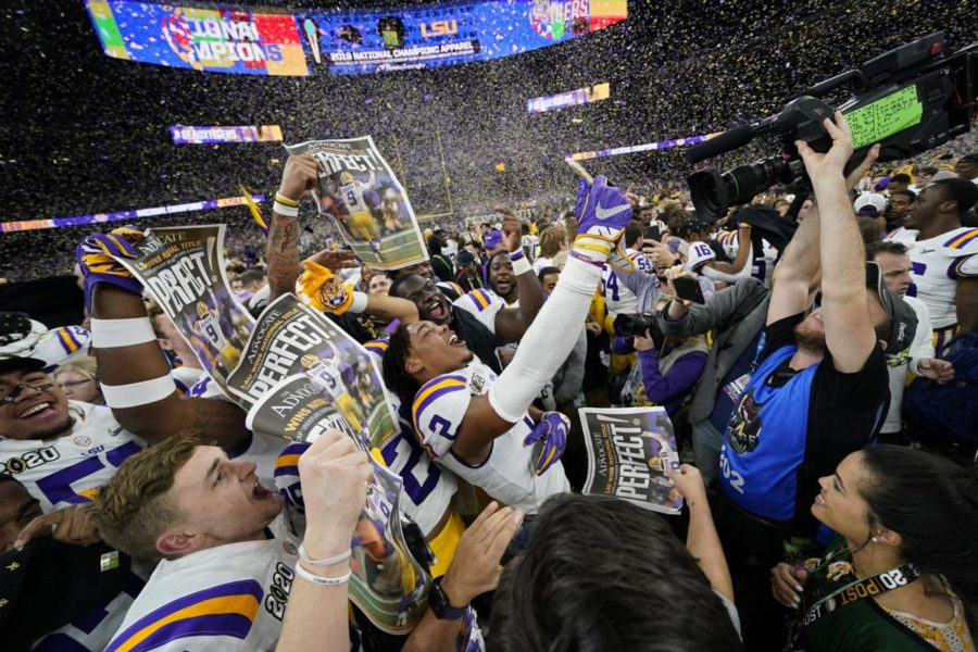 The Advocate: LSU football had the best season of all time. Need proof? Look at path to national title