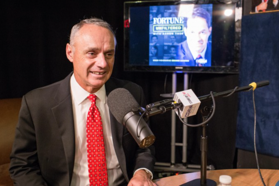 Fortune: MLB Commissioner Rob Manfred Describes His Journey To Baseball's Top Position