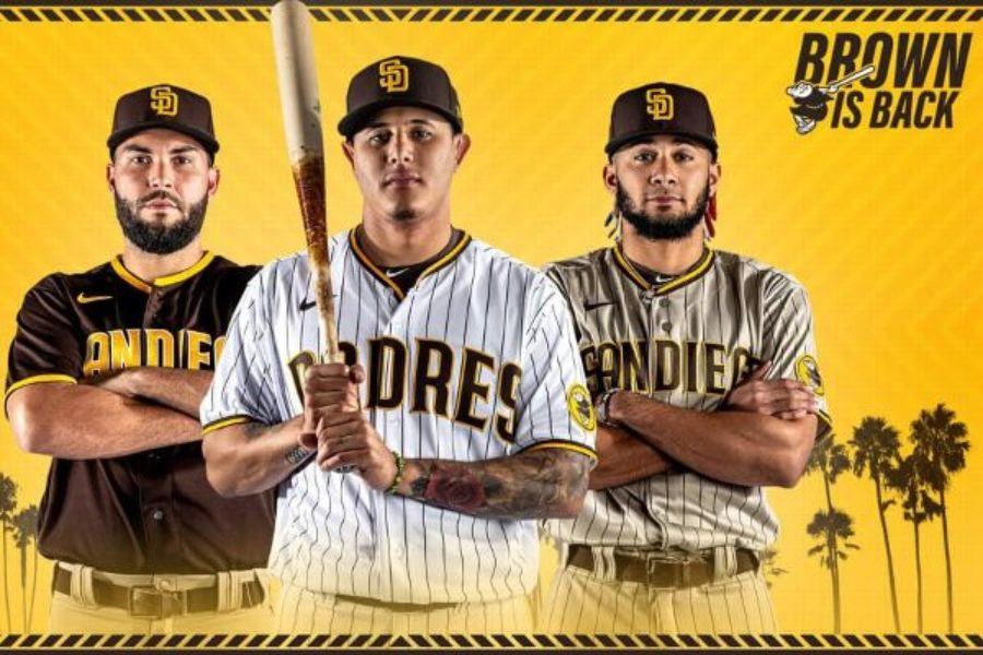 ESPN: San Diego Padres unveil new uniforms with brown-and-gold color scheme